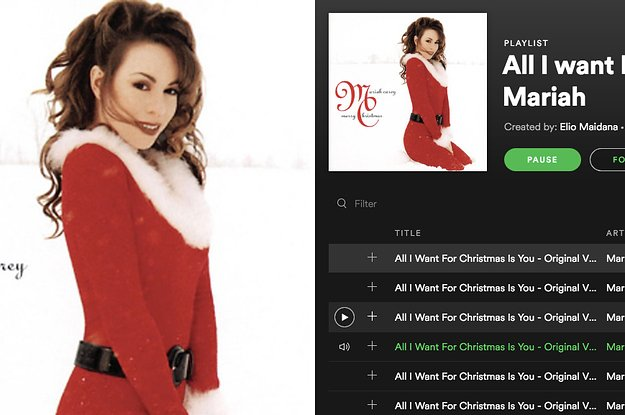 All I Want For Christmas Is You Original.Buzzfeed On Twitter It S Time To Listen To All I Want For