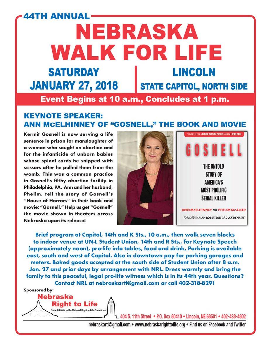 Nebraska Walk For Life Lincoln In Lincoln Nebraska