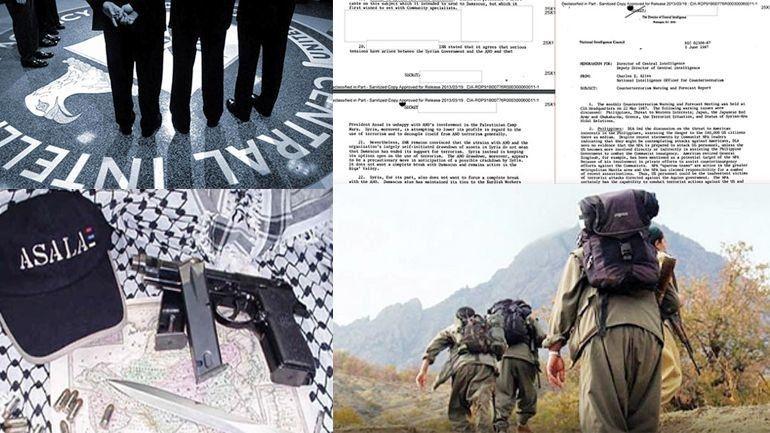CIA declassified documents reveal evidence of #ASALA and #PKK collaboration ile ilgili görsel sonucu