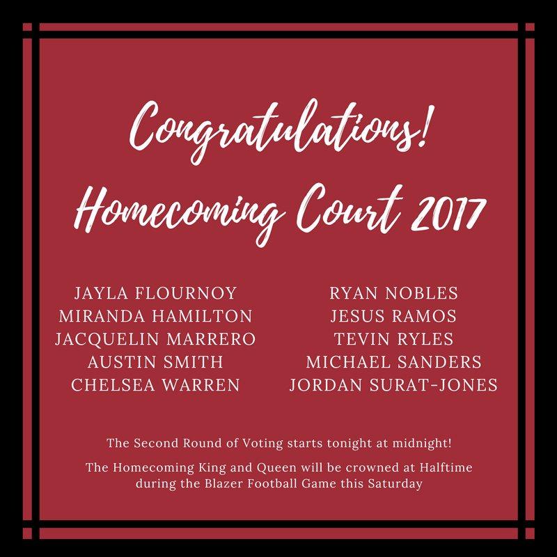 Vsu student life on twitter congratulations to our 2017 homecoming 114 pm 1 nov 2017 stopboris Choice Image