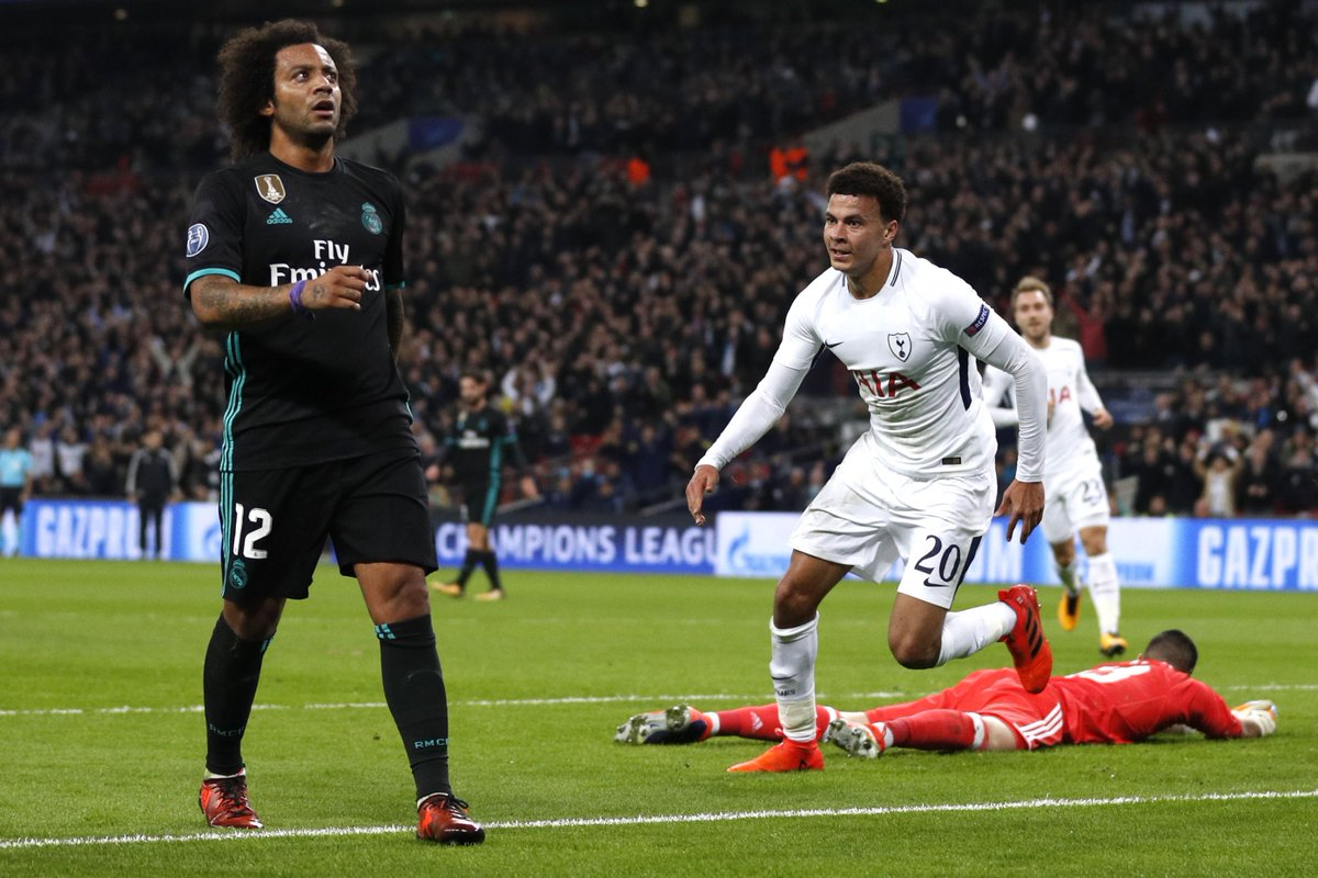 Tottenham Hotspur 3-0 Real Madrid Highlights