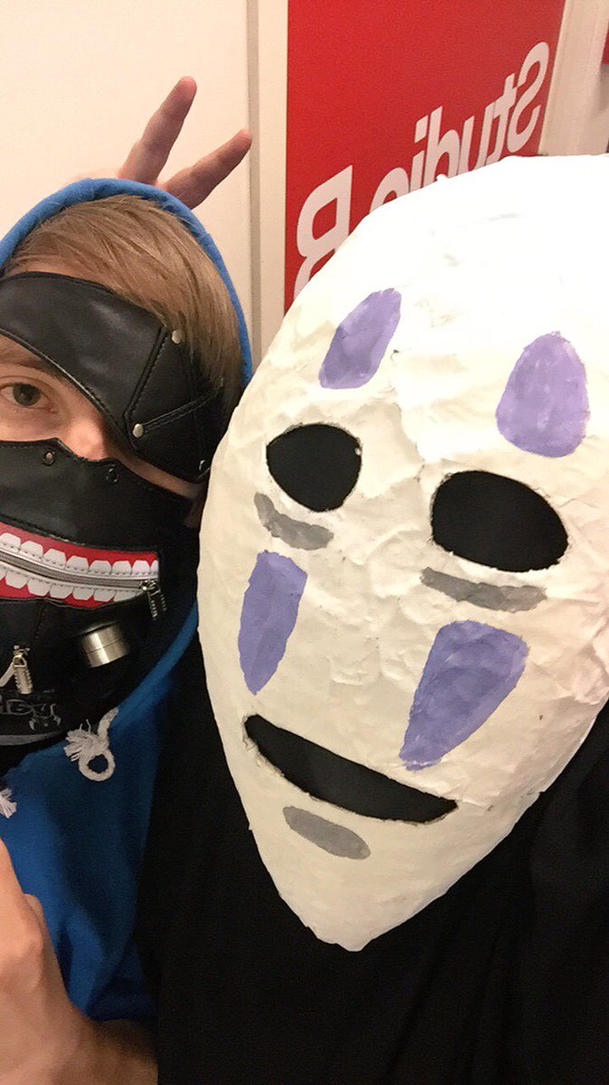 ccjay25 on twitter no face costume halloween 2017 studioghibli