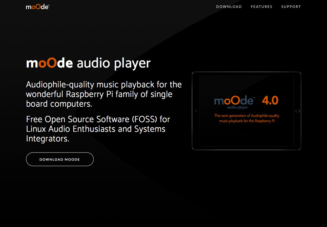 moOde audio player on Twitter: