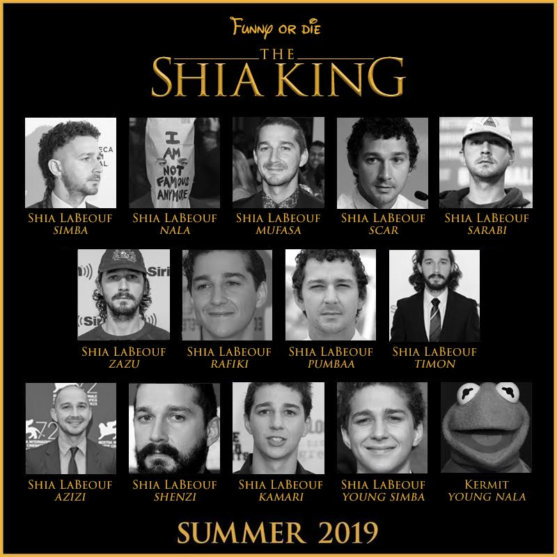 Funny Or Die On Twitter The Cast For The Thelionking Live Action Looks Amazing