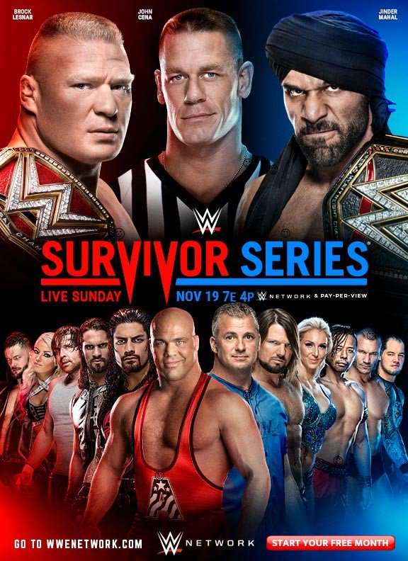 Survivor Series 2017 Poster Official >> Possible Major Spoiler For Brock Lesnar vs. Jinder Mahal Revealed   PWMania