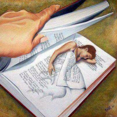 Apri il libro dei miei sogni e leggerai...