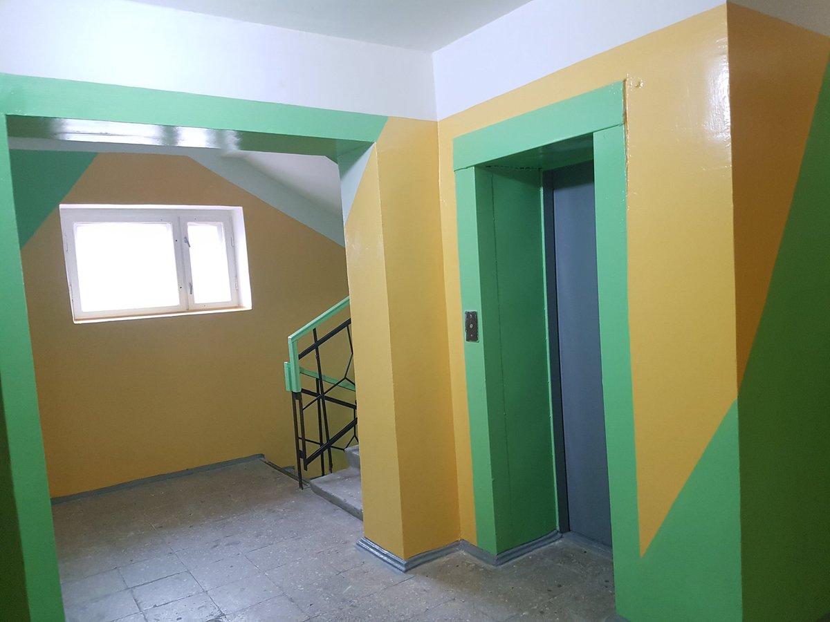 хотели как покрасить стены в подъезде фото приобретением коллекции