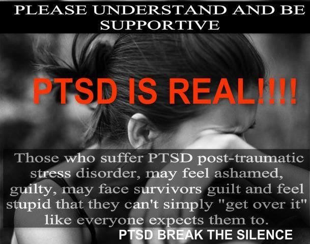 PTSD: You wont get it until you get it, period