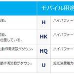 """CPU型番の後ろにつく""""X""""や""""K""""の意味。dospara.co.jp/5info/cts_coff…"""
