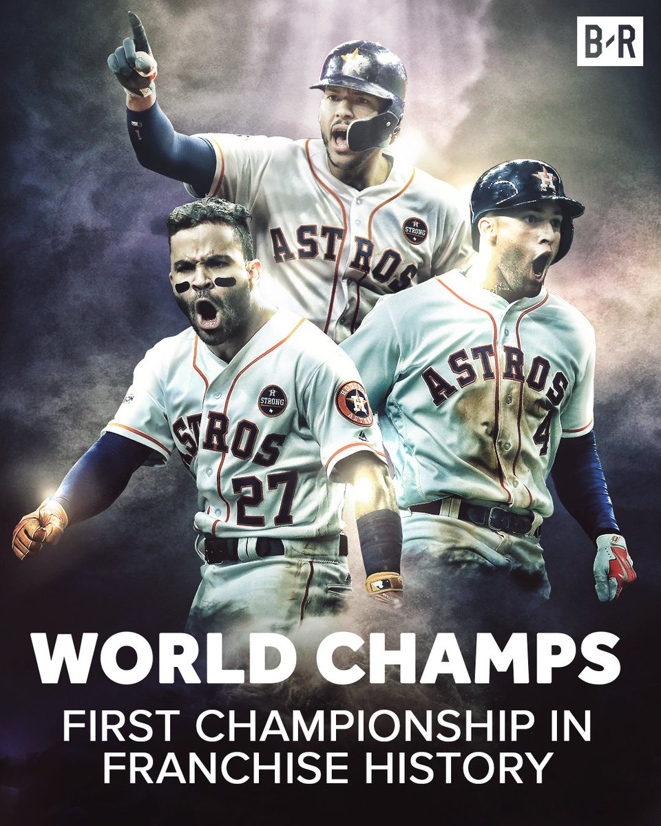 The Astros are your 2017 World Series Champions!