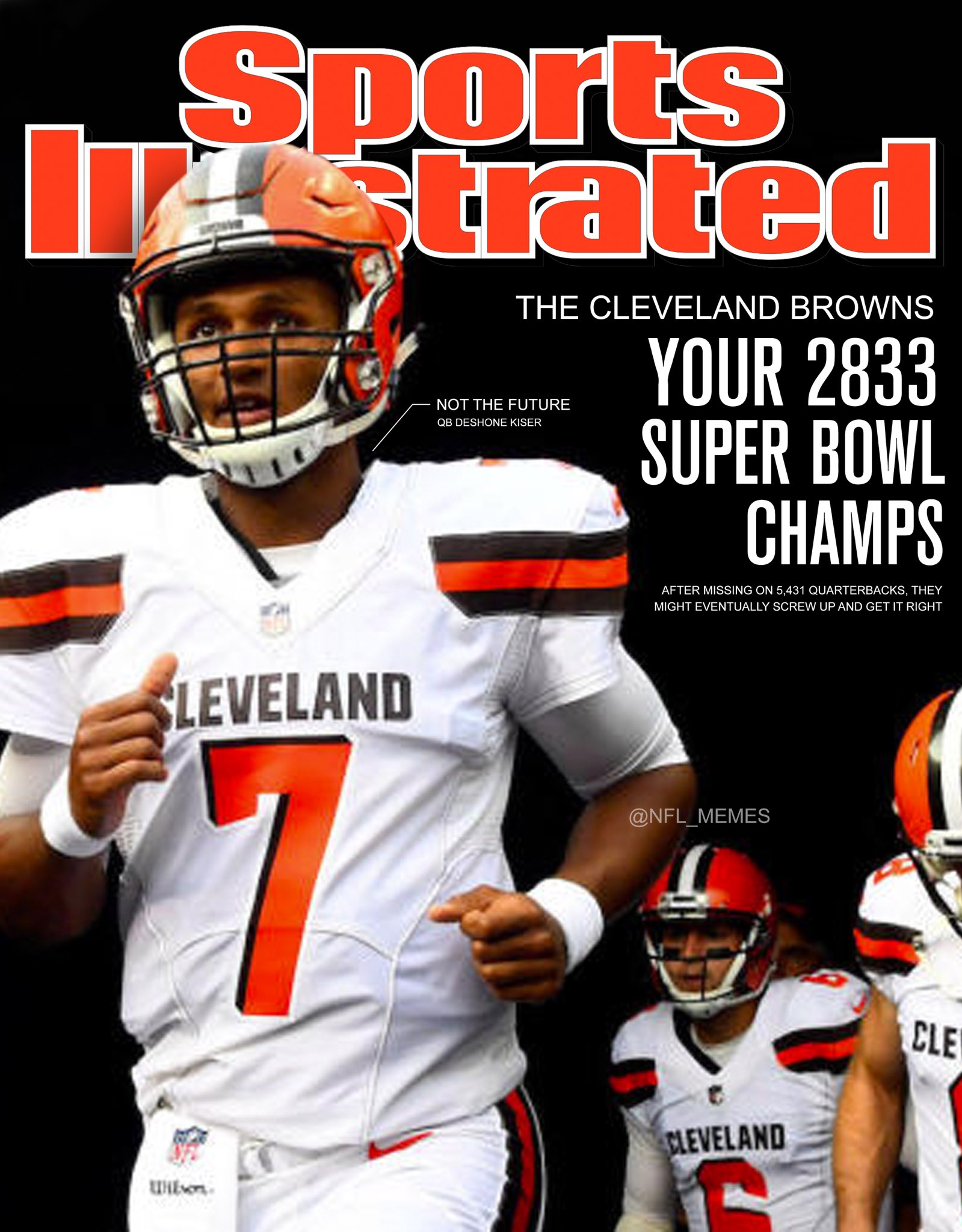 Nfl Memes On Twitter First Look Sports Illustrated Makes Prediction For The Cleveland Browns After Getting Astros Right
