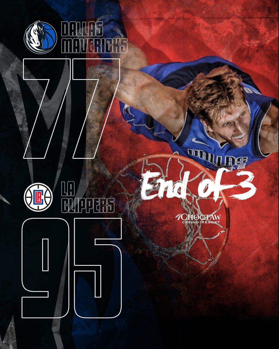 Dallas Mavericks On Twitter End Of The 3rd Mavs 77