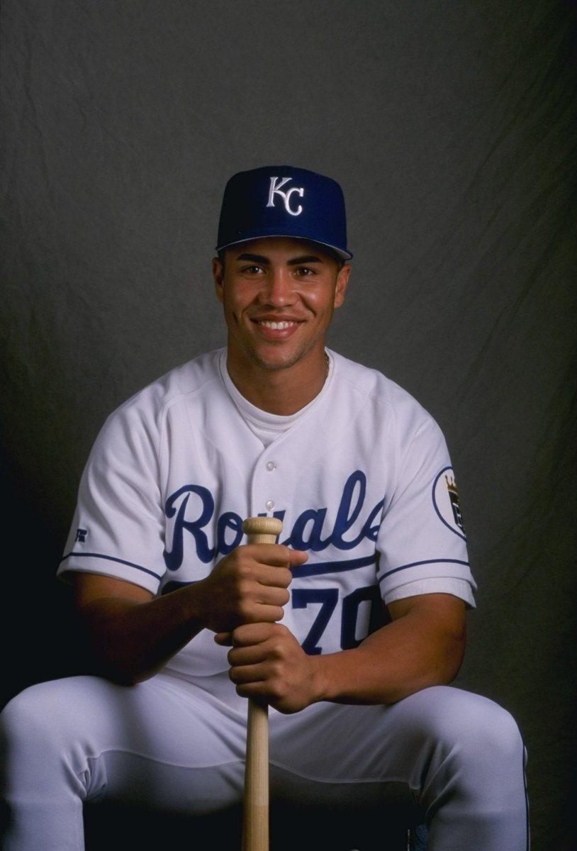 This is Carlos Beltran in his rookie season in 1998.   20 seasons later, he's won his first World Series.