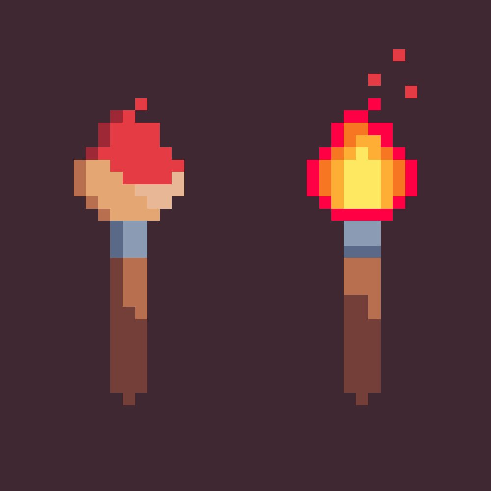 Always create #Art with #Burning #Passion #PixelArt #pixel_dailies @Pixel_Dailies @PixelArtM @PixelArtAcademy @PixelArtPerry @PixelArtSprite <br>http://pic.twitter.com/WR0MpeAWea