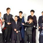 黒木啓司、「ゴマ豆腐飲みたい」希望!? 『HiGH&LOW』22名で舞台挨拶 #HiGH_L…