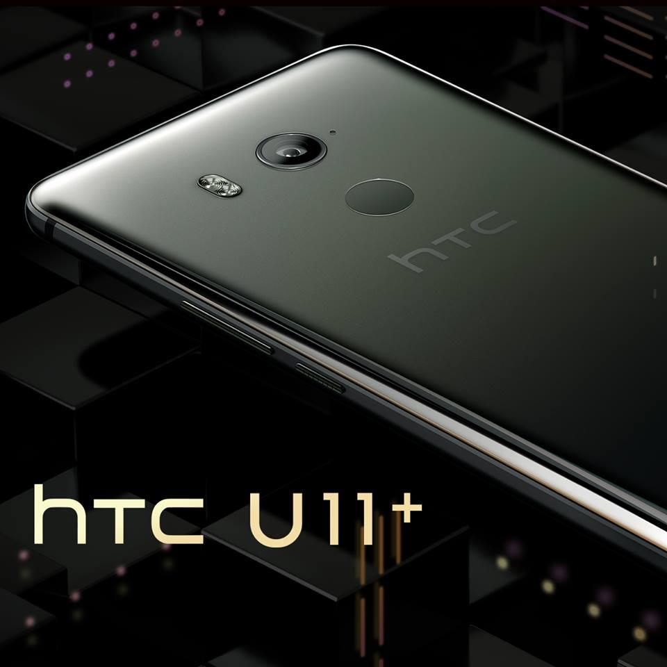 Un plus grand écran, plus de batterie et encore plus de fun dans un superbe design. Nous vous présentons le tout nouveau HTC U11+ https://t.co/36Wt9sEDXh