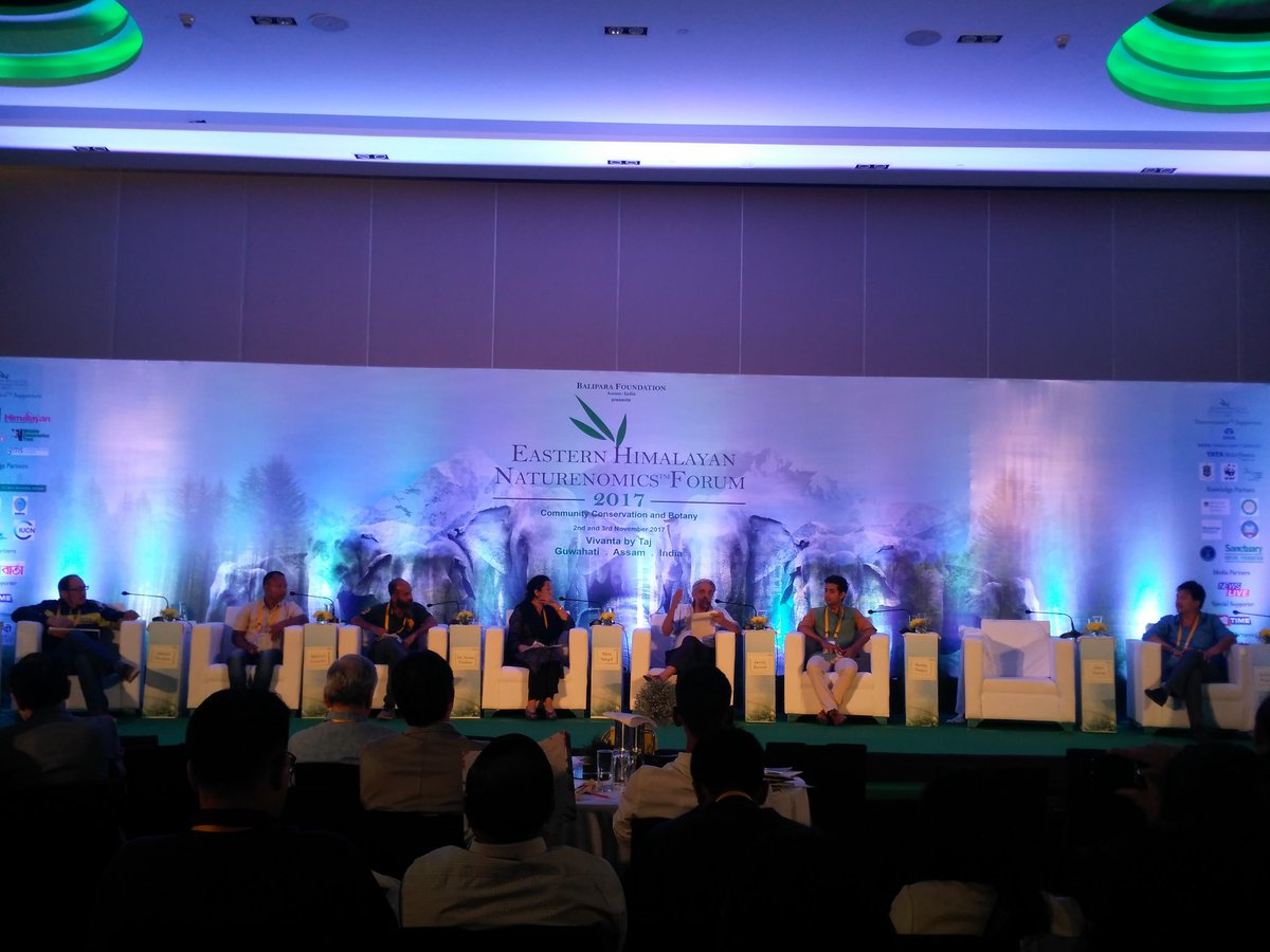 Panel Discussion on Using Tourism for conservation efforts and enhance public awareness #Tajhotels #Guwahati #RuralFutures #EHNF17 https://t.co/bGIhKvIYVf