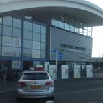 At Bristol Parkway meeting up with Hannah, the new chaplain for Wales