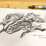 明日は #文化の日 ということで、11/3(金)20時より #キリンの聖獣真剣お絵描き60分一本勝負…