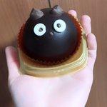 黒猫チョコケーキ!!!!いただきまーす! pic.twitter.com/JNB1NYb2Uu