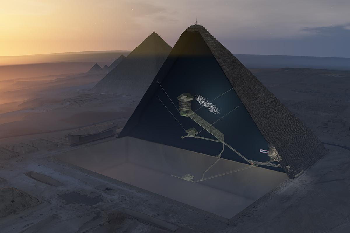 Cosmic rays have revealed a new chamber in Egypt's Great Pyramid https://t.co/pRISkW8GQw