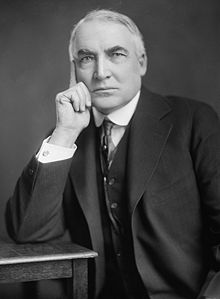 Happy Birthday Warren G Harding, 29th President of the United States.  Born this day in 1865.