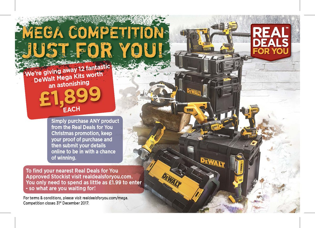 Real Deals For You On Twitter Our Dewalt Uk Competition Is Appearing Everywhere This Month Spot It In Woodturning Magazine Pb Mag Buildingnews And Many More Https T Co Hmlwpg9od6