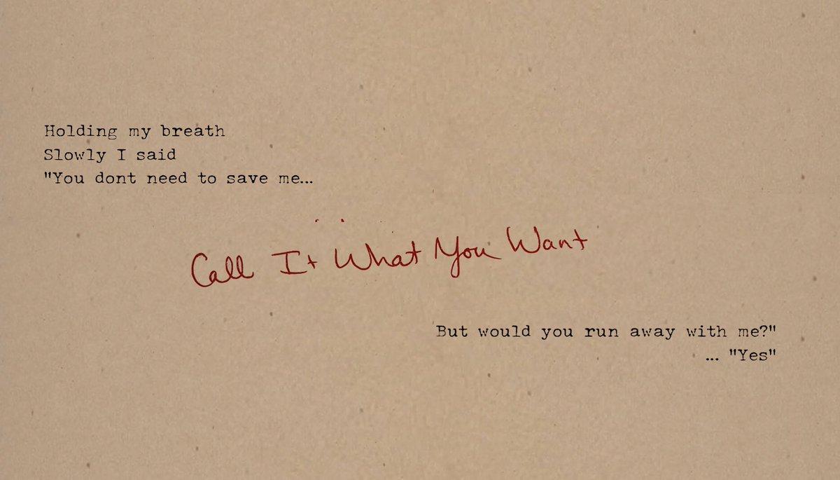 #CallItWhatYouWant ✨ Midnight tonight ET!
