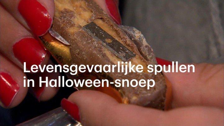 Halloween Snoep.Rtl Nieuws On Twitter Naalden Scheermesjes En Heroine