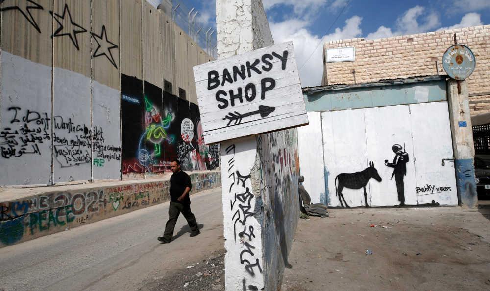 Bansky, unstoppable  @banksy @thereaIbanksy  #arte #art #artecontemporaneo #Israel #Perdon