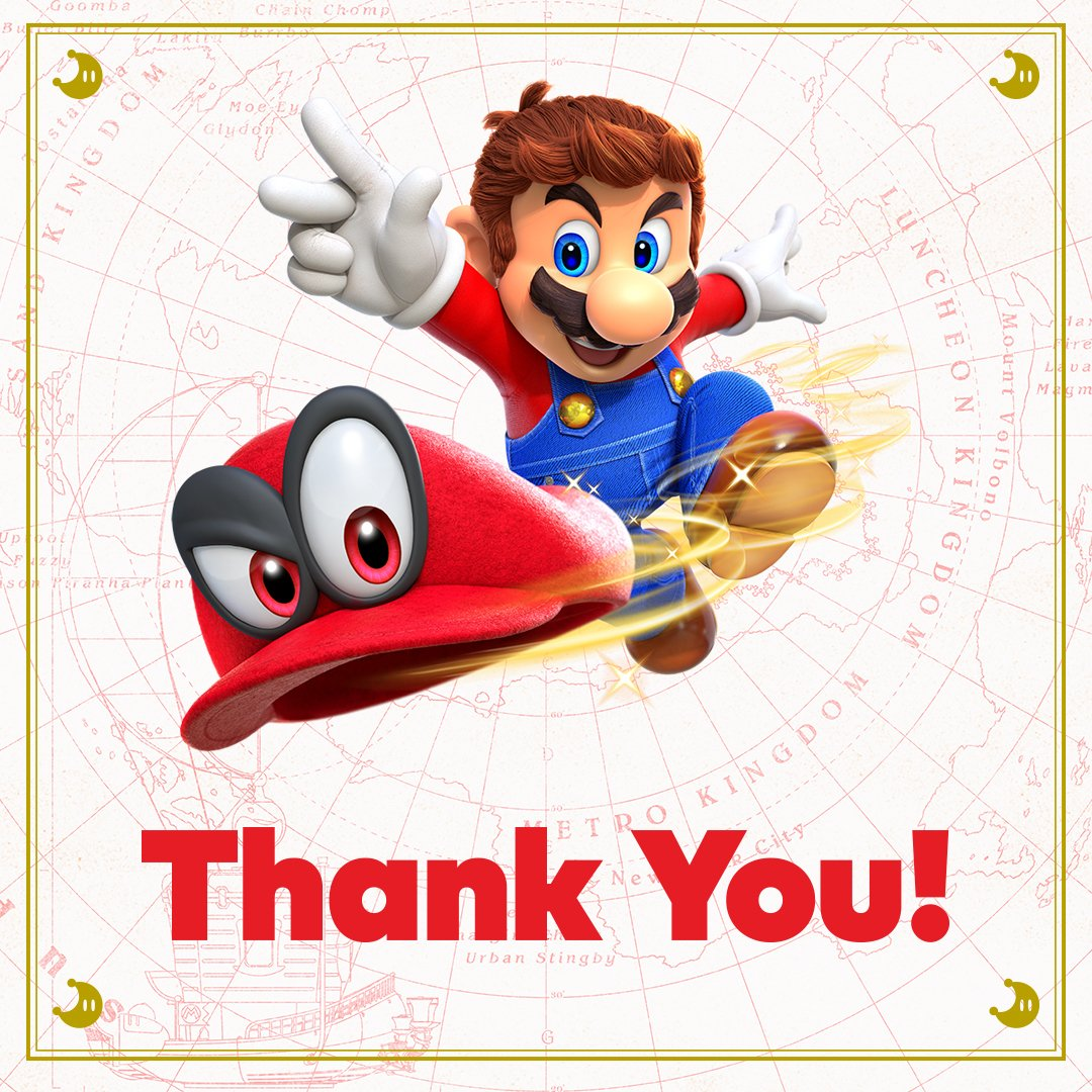 Nintendo Of America On Twitter Thank You To Everyone For Taking