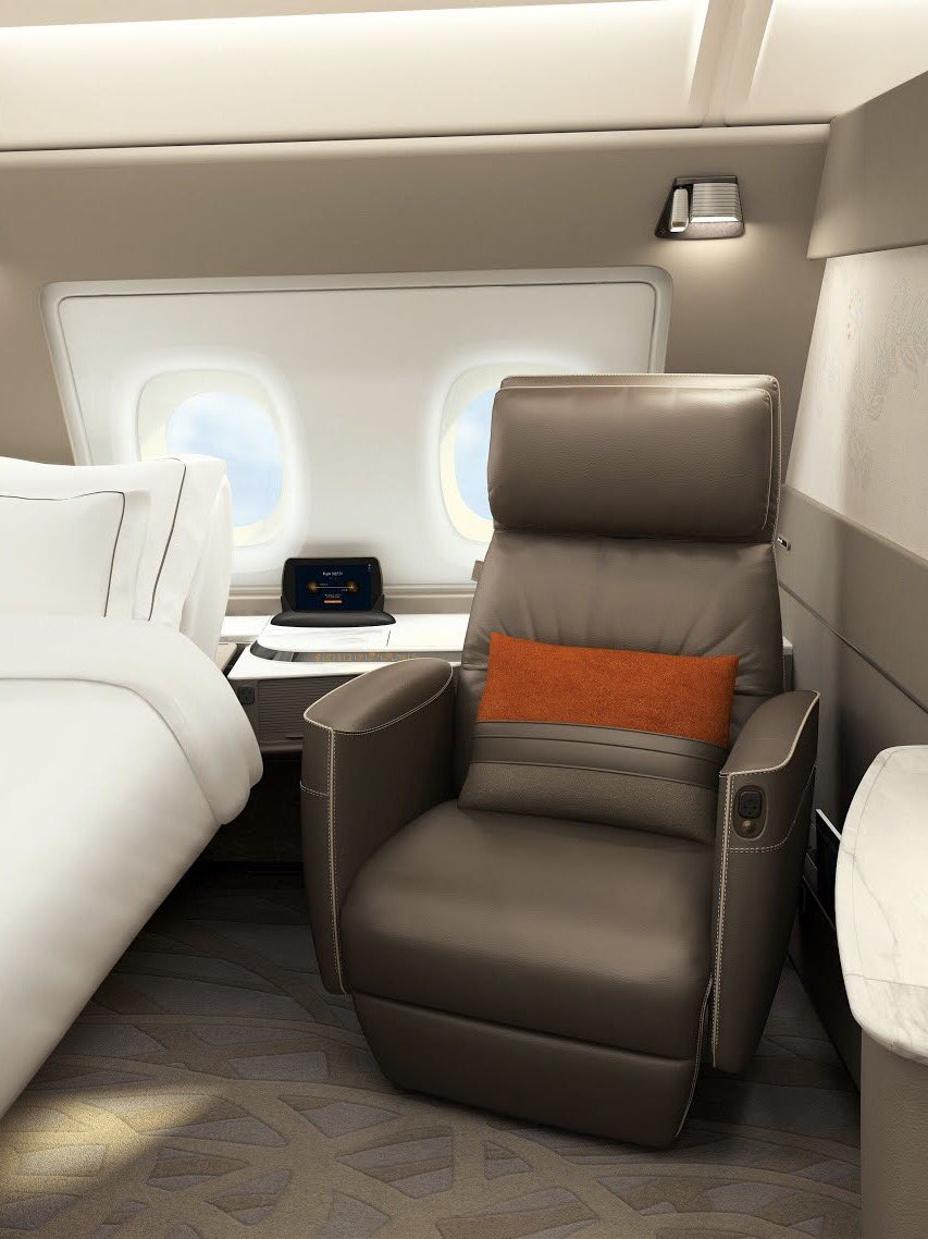 Superb Airlinetrends On Twitter Singapore Airlines New First Beatyapartments Chair Design Images Beatyapartmentscom