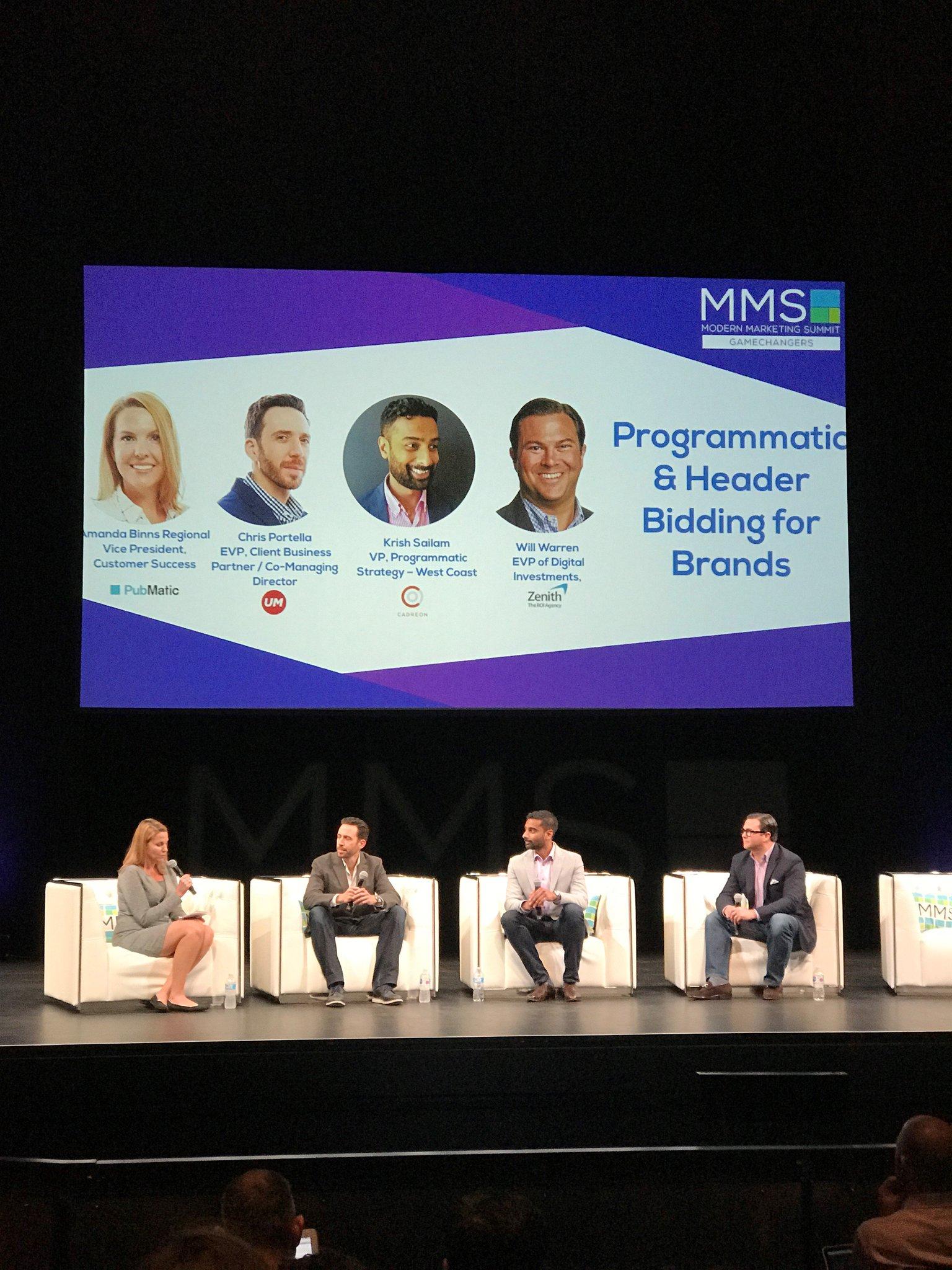 Chris Portella, EVP, Client Business Partner/Co-Managing Director, joined a MMS Gamechangers panel. https://t.co/i6RLCQDkln