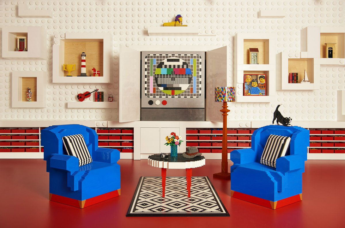 LOOK: You can stay inside a house made of Lego! | Z95 3