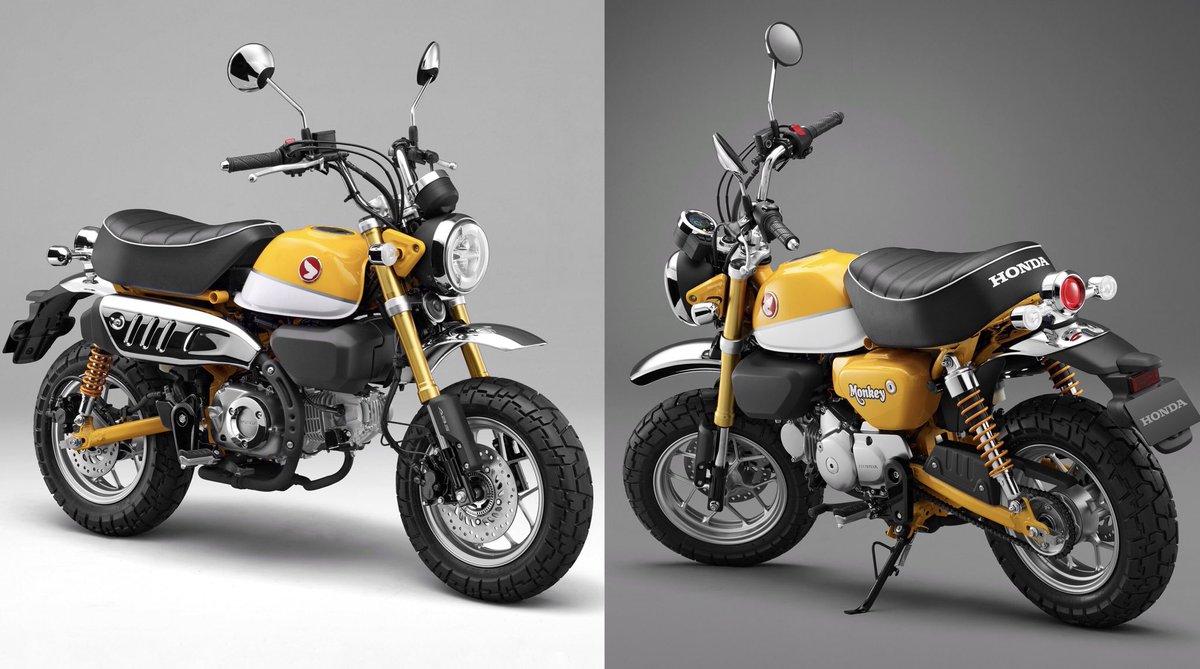 Honda Uk Motorcycles On Twitter Monkey Bike Fans Meet The Monkey