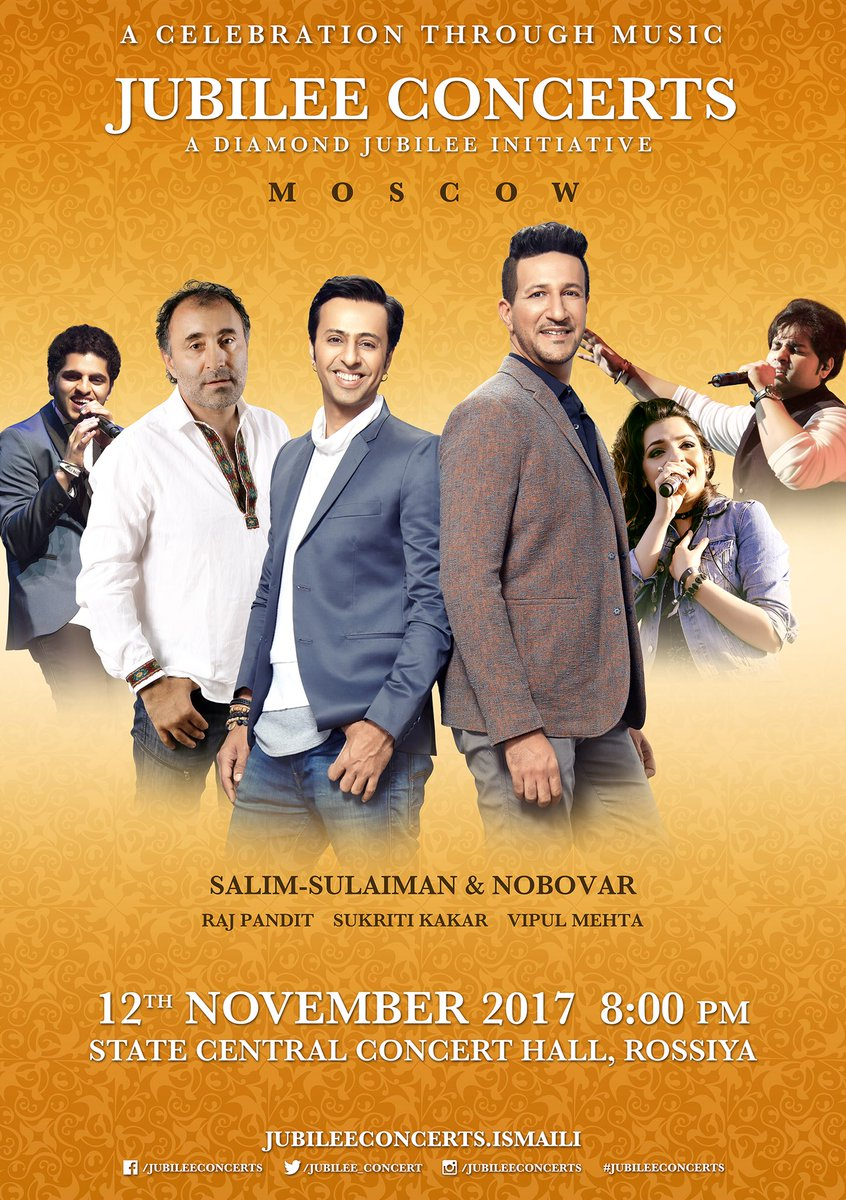 Salim Merchant On Twitter Jubilee Concert Is Back This Time In