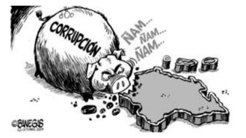 """La corrupción le sirve a la élite porque naturaliza el distanciamiento entre ciudadanos y política al hacerlos creer que """"todos son iguales"""""""
