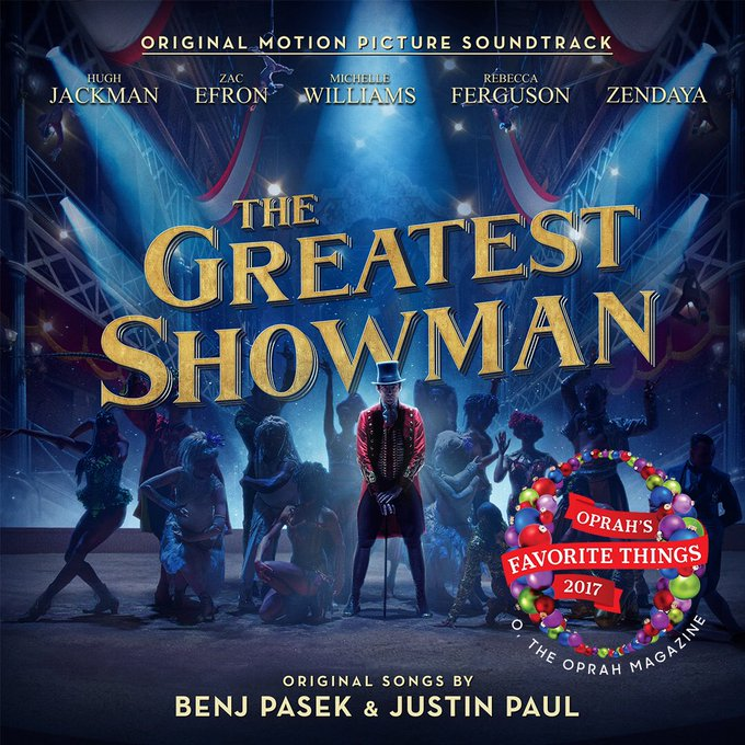 Check the music 🎶!!!Pre-order here:https://t.co/R9QkkmgUyh #GreatestShowman https://t.co/HtDetqM1Ie