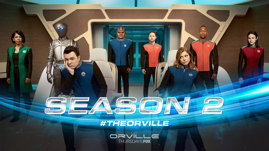 BOOM! 💥 Thanks to you, #TheOrville has b...