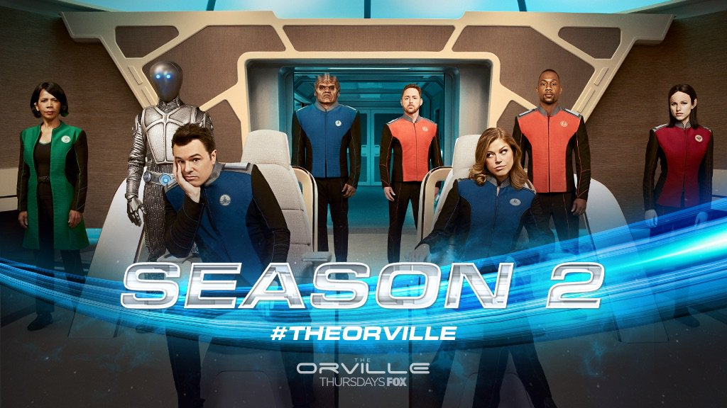 #TheOrville has been picked up for seaso...