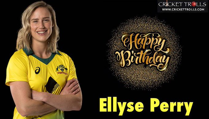 Happy Birthday Ellyse Perry