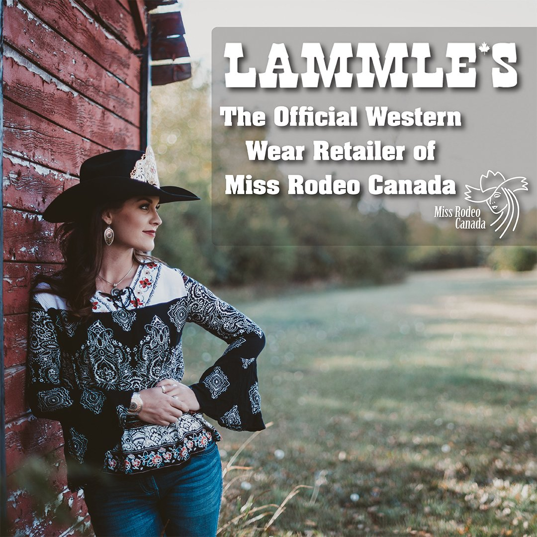Proud to announce we are now the Official Retailer of @missrodeocanada Looking forward to working with the 2018 contestants! #bestofluck