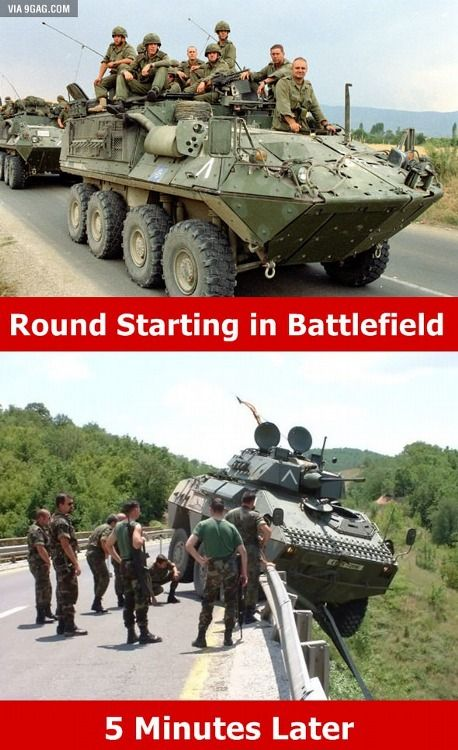 True situation in #Battlefield, right? :)