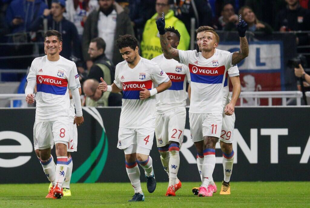 Lyon 3-0 Everton Highlights