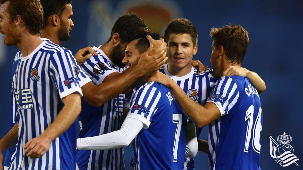 DNqUSvaW4AIMpX9 CRÓNICA: Real Sociedad 3-0 Vardar - Comunio-Biwenger