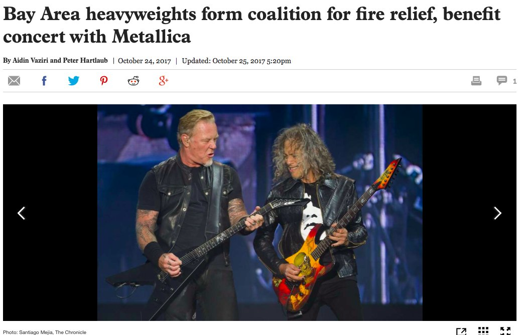 Metallica will live stream California wildfire benefit show