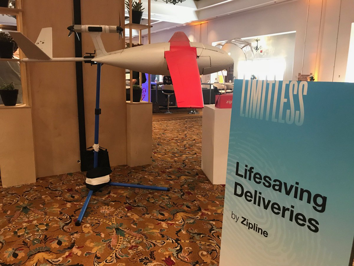 So impressive: @zipline using drones to deliver emergency medical supplies in Rwanda #TEDMED https://t.co/BjOgyS3SpQ