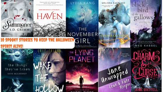 Halloween may be over, but you can keep the Halloween spirit alive with these 10 spooky reads! #spookybooks #yalit https://t.co/83tbRnkLdr