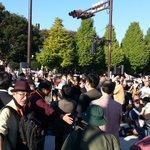 「安倍9条改憲ノー!」国会包囲大行動でスピーチ。立民・枝野代表、民進・江崎参院議員、社民・福島副党首…