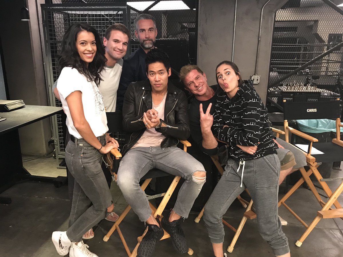 """Cast Of Swat 2018: S.W.A.T. On Twitter: """"#SWAT Time! The Cast Is Here To Live"""